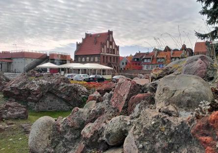 Ruiny Zamku Krzyżackiego zdjęcie nr 2
