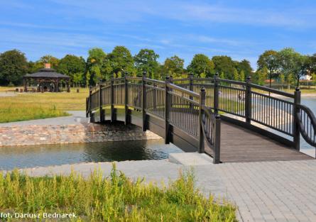 Inowrocław most przez wodę