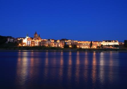 Grudziądz panorama miasta