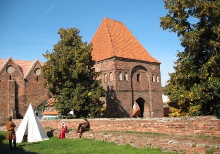 Ruiny Zamku Krzyżackiego zdjęcie nr 3