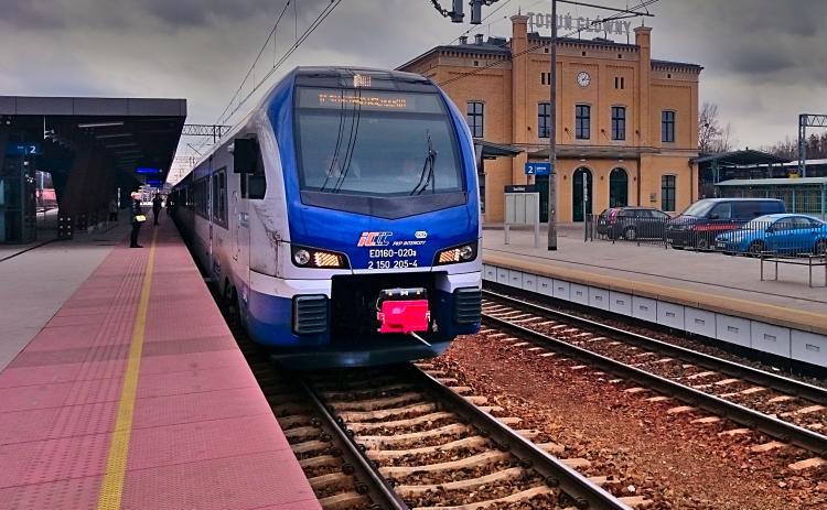 PKP Toruń Główny Central Train Station