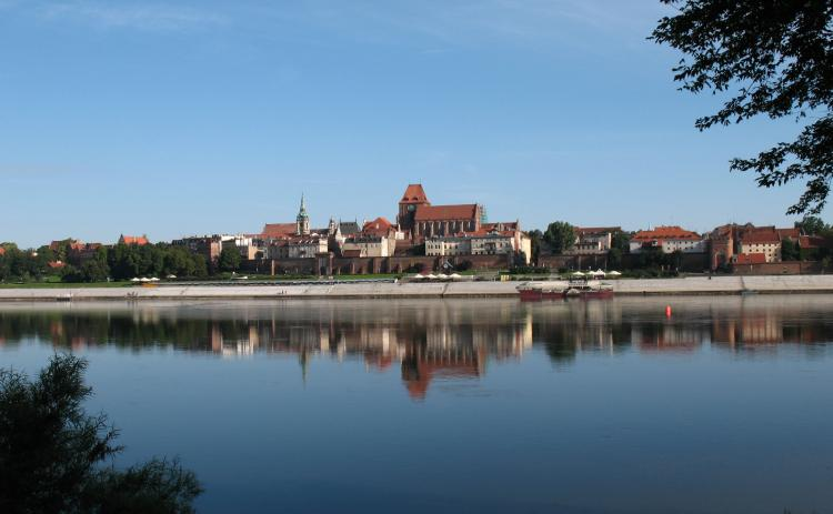 The Vistula River viewing-point