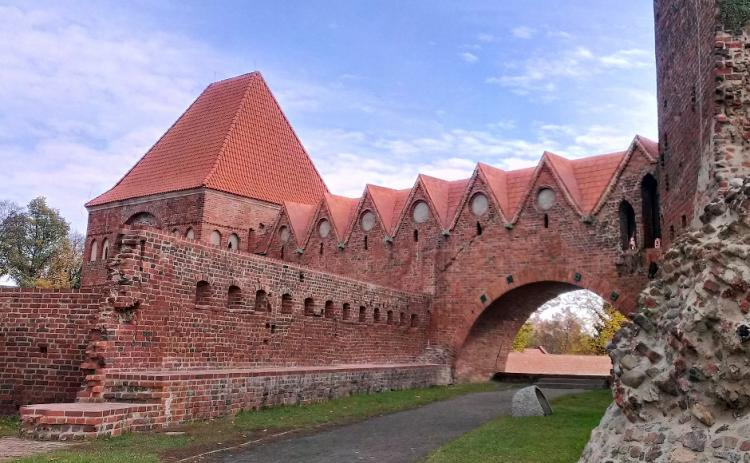 The ruins of the Teutonic Order Castle