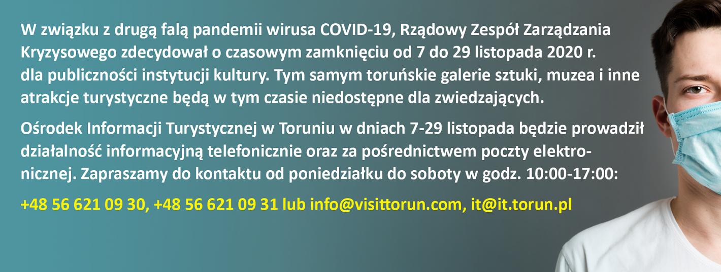 Informacja dotycząca działalności Informacji Turystycznej