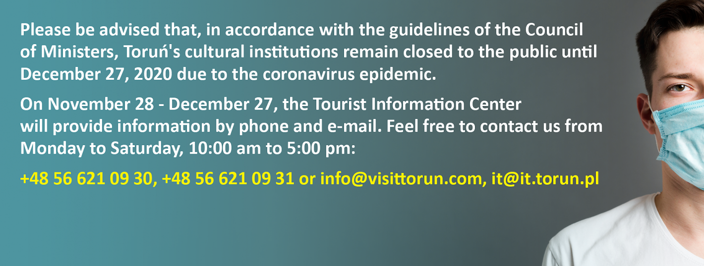 An information about how the Tourist Office works during the pandemic