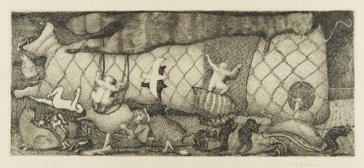 grafika Masakatsu Tagami
