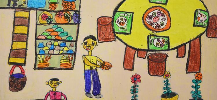 autor pracy: Aakroti Thakkr, lat 11, Indie