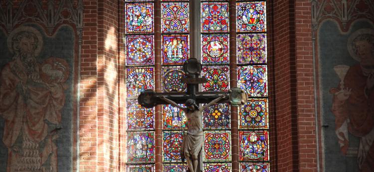 zdjęcie wnętrza katedry, fot. Magdalena Kujawa
