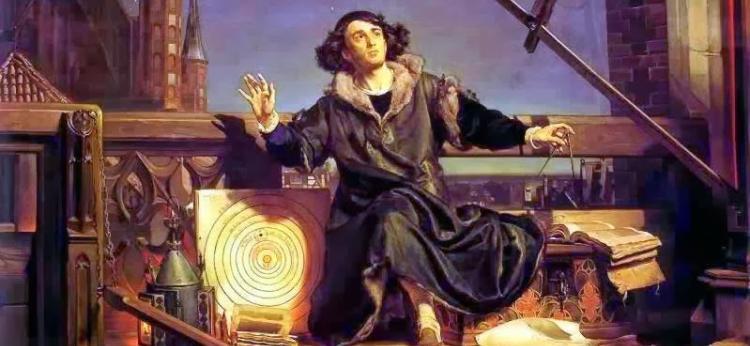 obraz Jana Matejki - Astronomer