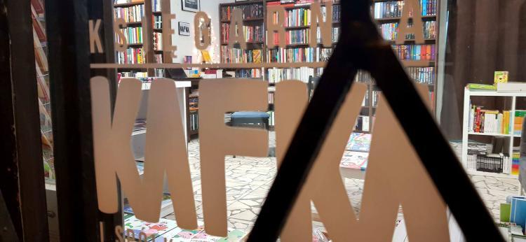 zdjęcie witryny księgarni, fot. Małgorzata Litwin