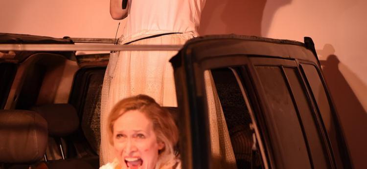 Scena ze spektaklu, fot. Anna K. Abramowicz