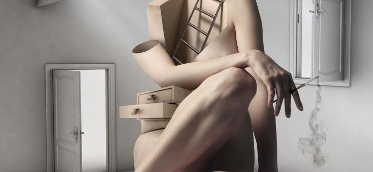plakat Klamry, projekt: Monika Bojarska