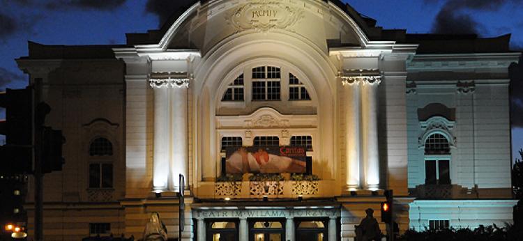 zdjęcie budynku teatru