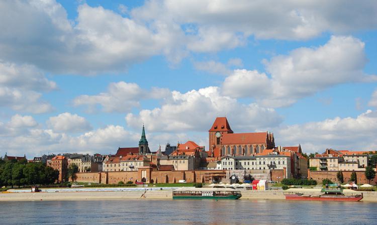 Śr, 2011-08-31 14:00 - Panorama Torunia, jeden z 7 cudów Polski | Panorama of Torun one of the 7 wonders of Poland