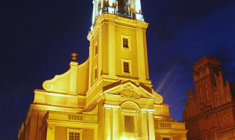 Śr, 2010-06-09 22:20 - Torun | Kościół Ducha Świętego | Church of Holy Spirit